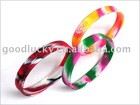 Promotional gifts mixing colors silicon wrist band