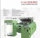 patented three rollers device carding machine