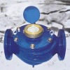 rotary vane wheel liquid sealed water meter