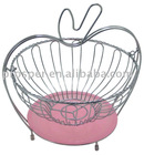 Hot Sale Flower-shaped Metal Fruit Basket