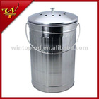 1.8 Gallon Stainless Steel Compost Pail