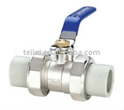 PPR Ball Valve-PPR Pipe Fitting-100% PPR materials imported from South Korea