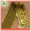 New women dress accessories stretch sequin embroidery trim