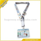 2012 no MOQ custom printing neck lanyards