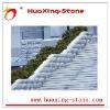 White Granite Inside/Outside Stairs