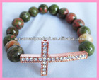 YA33 fashion style new diamond cross bracelet