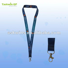 Heat transfer printed polyester neck lanyard for sale