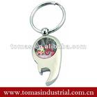 Customized metal bottle opener promotinal christmas items