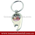 Customized metal bottle opener promotinal christmas items