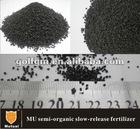 MU slow release semi-organic fertilizer 15-5-10,60%MU,15% organic matter