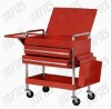 TR-TCR-006 Two Drawer Service Cart with tray