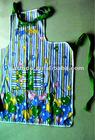 custom apron with colorful logo