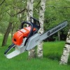 Air-cooled, two-stroke, single cylinder gasoline,72.2cc Chain saw