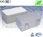 B10501 Gray plastic terminal enclosure junction box