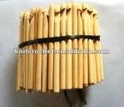 bamboo crochet hooks, Bamboo Crochet Hook Kit, custom crochet hooks (HOOK002)