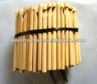 bamboo crochet hooks, Bamboo Crochet Hook Kit, custom crochet hooks (HOOK002)
