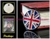 UK FLAG Metal Promotional Keychain