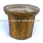 Paper Flower Pot--molded pulp