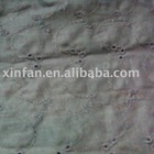 100% cotton embroidery fabric with holes