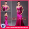 PMD218 sexy sweetheart hot pink zipper back long prom dresses 2013