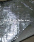 High reflective fabric insulation