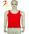 solid color 100 cotton fitted rib summer vest tanks for men