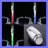 Green Red Blue Water Stream Temperature Sensitive Faucet Tap Basin LED Light
