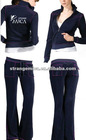 fashion ladies velour jogging sets
