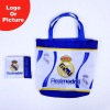 Football fans promotion foldable shopping bag