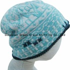children jacquard knitted hat