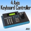 CCTV Axis Intelligent Digital 4 Keyboard Controller LCD Display for PTZ & DVR