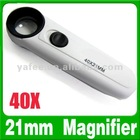 40x Magnifying Lamp Glass with Light O-868