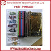 for iphone 4S electroplated middle frame with small parts