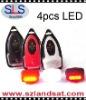 2012 new products, 4 LEDs bicycle light, Bicycle light, LED Bike Light, SLS-82