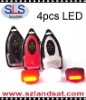 2012 new products, 4 LEDs bicycle light, Bicycle light, LED Bike Light, SLS-82