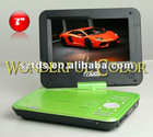 Hot sell portable DVD Player with 3D function