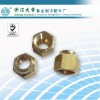 High quality brass flare nuts as air conditioner spare part