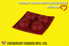 silicone rubber cake pan