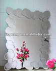 2012 New Design handmade decorative clear round oval framed mirror, decorative mirror, art and craft mirror wholesaler--mabel