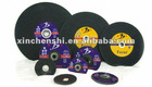 Resinforced resin bonded stainless steel and metal grinding disc