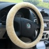 luxury sheepskin steering wheel covers