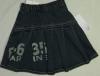 girls children clothes denim skirts girls jean skirt