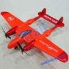 RC Aerodone Remove Control Aircraft Hawk Airplane WX-8804 (Orange)