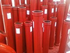 ST-52 DN125-3000mm concrete pump pipe
