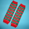 Hot sell 2012 New design Christmas baby leg warmer