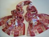 Printed Silk Satin Scarf (1109087)