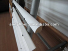primed quarter round composite decking outdoor flooring