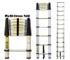 telescopic aluminium ladder 3.8M