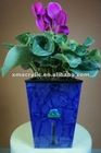 Self Watering Plastic Colorful Flowerpot