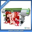 Double 4 color 1.8M uv digital inkjet label printer